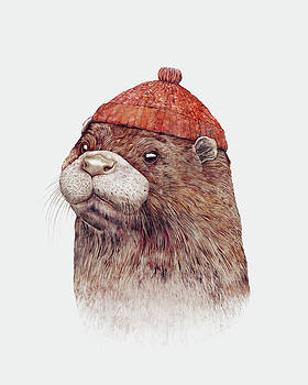 Otter by Animal Crew