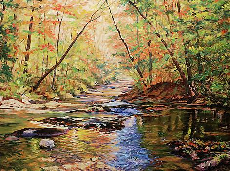 Otter Creek - Near Peaks of Otter VA by Bonnie Mason