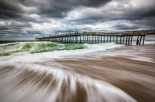 Outer Banks NC North Carolina Beach Seascape Photography OBX by Dave Allen