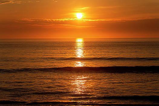 Outer Banks Sunrise 11 by David Stasiak