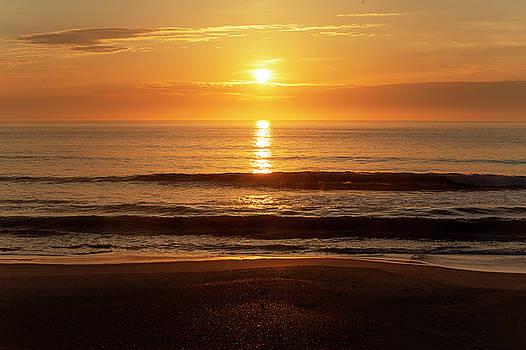Outer Banks Sunrise 12 by David Stasiak
