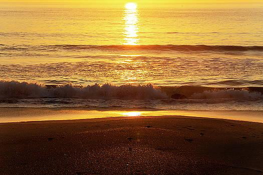 Outer Banks Sunrise 13 by David Stasiak