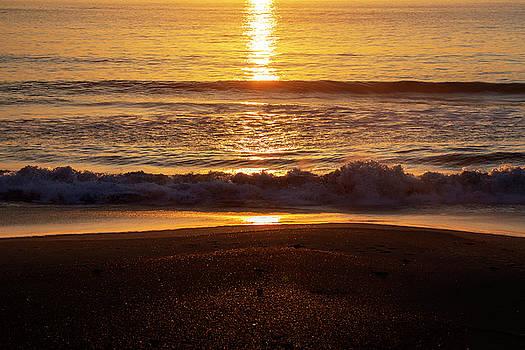 Outer Banks Sunrise 14 by David Stasiak