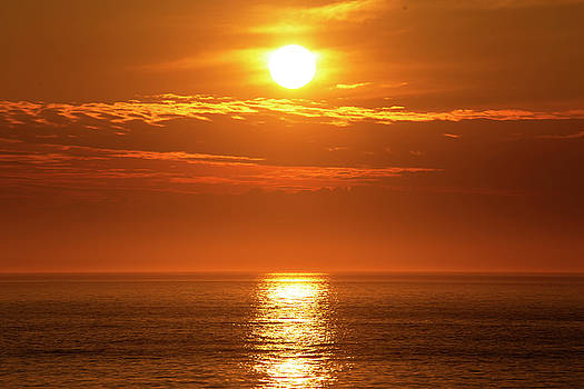 Outer Banks Sunrise 15 by David Stasiak