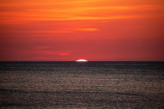 Outer Banks Sunrise 20 by David Stasiak