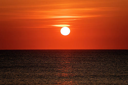 Outer Banks Sunrise 22 by David Stasiak