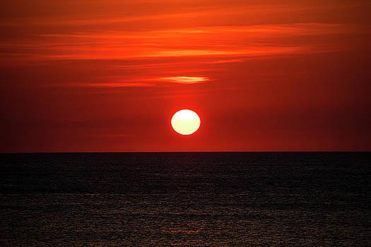 Outer Banks Sunrise 28 by David Stasiak