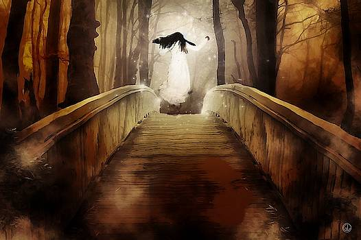 Over the bridge by Gun Legler