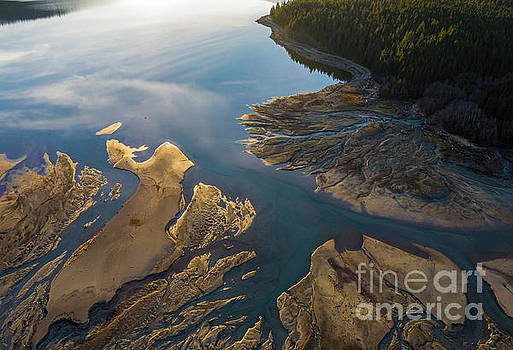 Over the Northwest Two Rivers Gather by Mike Reid