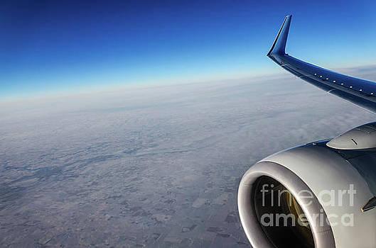 Over the sky by Viktor Birkus