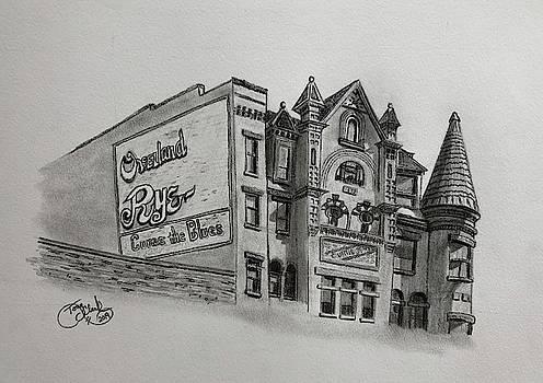 Overland Rye Building  by Tony Clark
