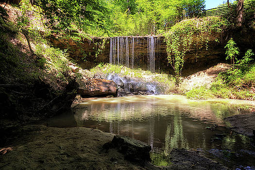 Owens Creek Waterfall by Susan Rissi Tregoning