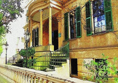 Owens-Thomas House in Savannah, Georgia by Aberjhani