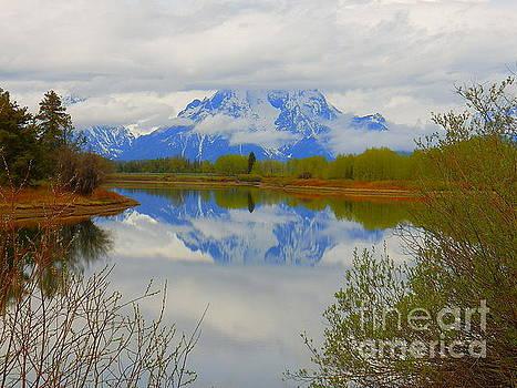 Oxbow Bend Grand Teton National Park by Art Sandi