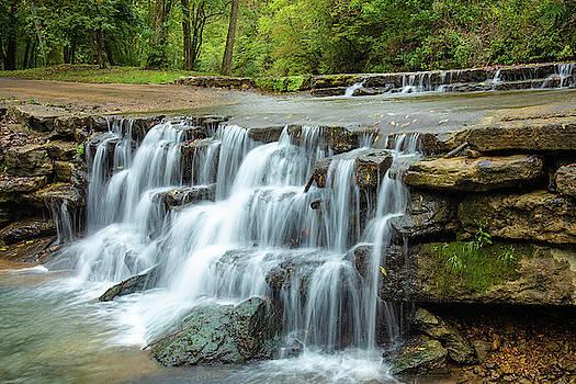 Ozark Fall Waterfall by Steven Bateson