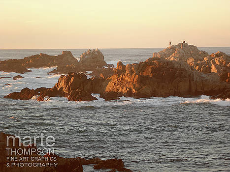Pacific Grove Sunset by Marte Thompson