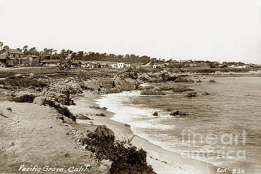 California Views Archives Mr Pat Hathaway Archives - Pacific Grove Waterfront looking West from Lovers Point