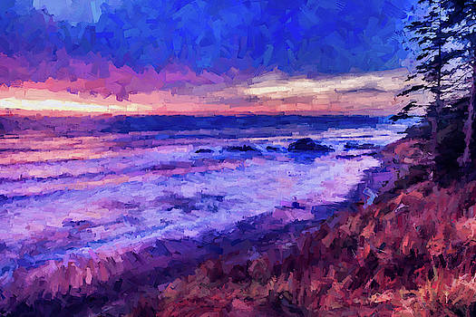 Mike Penney - Pacific Ocean Sunset 2