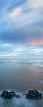 Pacific Ocean Vertical Panorama by Steve Gadomski