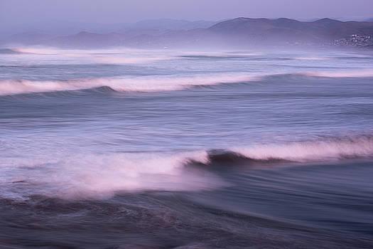 Pacific Ocean Waves by Steve Gadomski