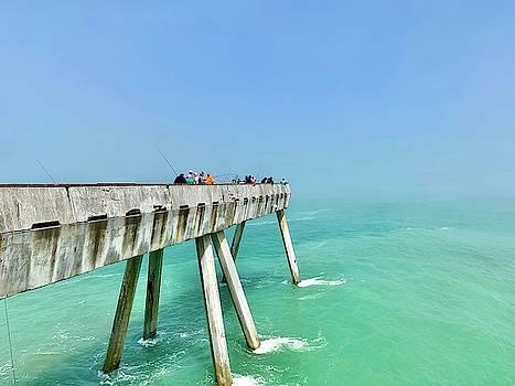 Pacifica Pier 1 by Julie Gebhardt
