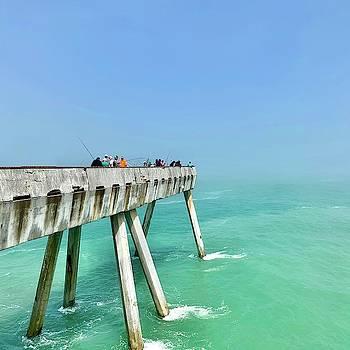 Pacifica Pier 2 by Julie Gebhardt