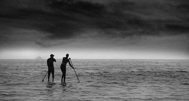 Paddle Boarders by John Rodrigues
