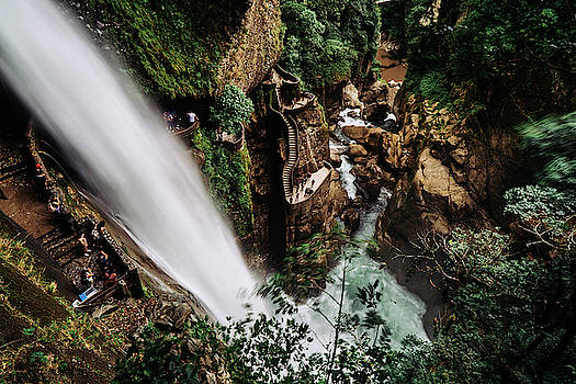 Pailon Del Diablo Waterfall in Ecuador by Kamran Ali