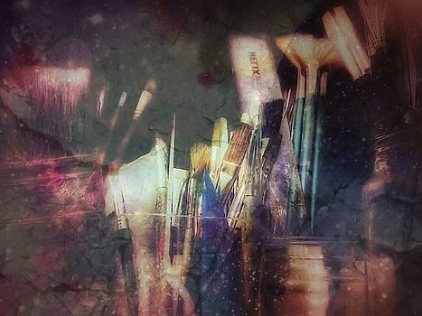 Abbie Shores - Paint Brushes in Grunge 1 of 3