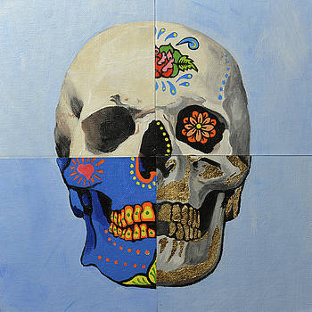 Painted Skull by Jim Connelly