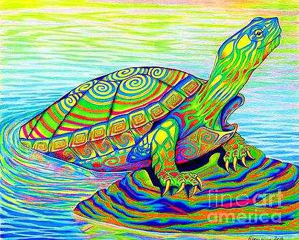Painted Turtle by Rebecca Wang