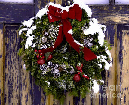 Painted Wreath by Alana Ranney
