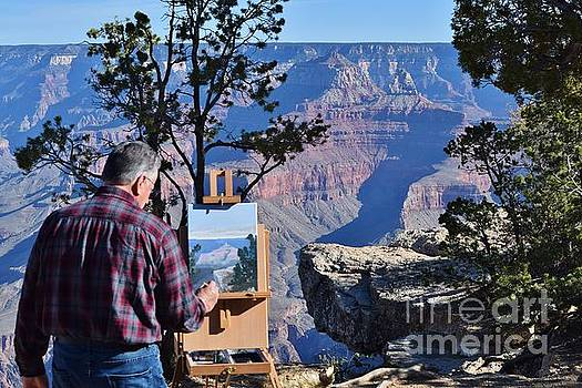 Painting the Canyon by Jerry Bokowski