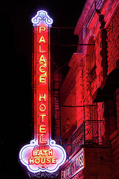 Palace Hotel Neon Sign by Steven Bateson