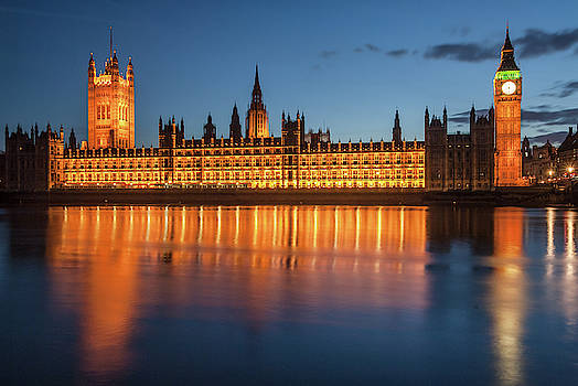 David Ross - Palace of Westminster at night
