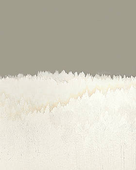 Pale Forest Abstract  by Menega Sabidussi