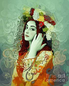Palestanian Flowers 2 by Imad Abu shtayyah