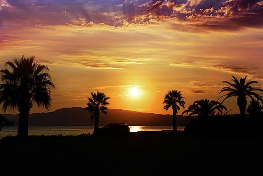 Palm Beach in Greece by Milena Ilieva