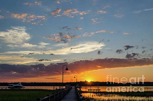 Dale Powell - Palmetto Sunrise - Wando River
