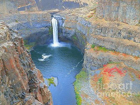 Palouse Falls Washington State by Art Sandi