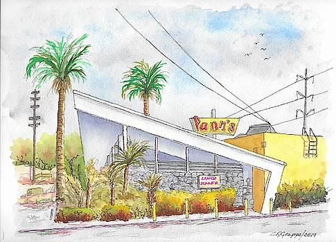 Pann's Coffee Shop in La Cienega Blvd., Inglewood, California by Carlos G Groppa