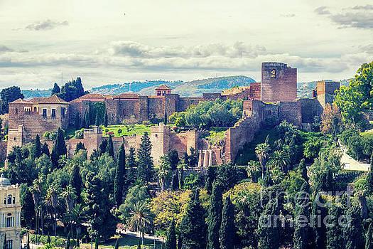 Ariadna De Raadt - panorama of  Alcazaba