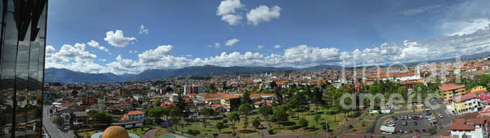Panorama Of Beautiful Cuenca, Ecuador by Al Bourassa
