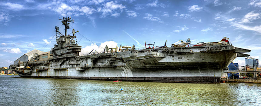 Panoramic of The Intrepid by Geraldine Scull