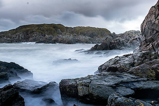 Panoramic scene at the coast by Kai Mueller