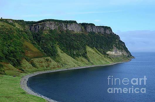 Panoramic Views of Bearreraig Bay in Scotland by DejaVu Designs