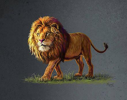 Panthera Leo by Anthony Mwangi
