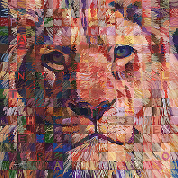 Panthera Leo Lion No. 1 by Randal Huiskens