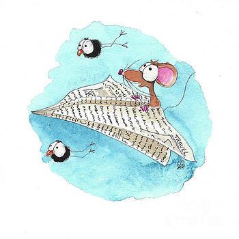 Paper Flights by Lucia Stewart