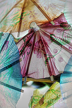 Paper Umbrellas 02 by Pamela Moran